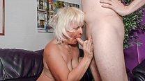 XXX OMAS - Amateur blonde granny Gabriele H. likes it rough pornhub video