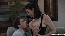 Hot MILF Reagan Foxx put her dauthers boyfriend Tyler Nixon to a fuck test and plunges his cock into her cunt and brings her to such intense orgasms.