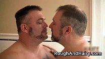 Chubby gay dude sucks stiff rod and fuck gay porn