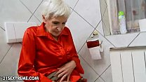 Hairy granny gets fucked by a young stud Thumbnail