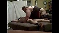 bbw femdom with her slave
