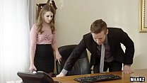 WANKZ- Sexy Office Assistant Alice March