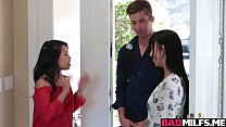 Threesome fuck with Cindy Starfall and Marica Hase