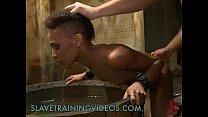 Black babe gets slave training