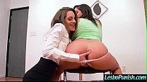 Horny Sexy Lesbians (Abella Danger & Kimmy Granger) In Hard Punish Sex Tape video-01 صورة