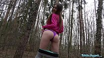 Public agent sexy jogger fucked in the woods ◦ www cycatki com thumbnail