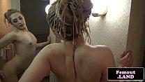 Smalltitted amateur femboy filmed wanking off