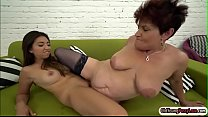 Latin hottie Frida Sante licks a granny pornhub video