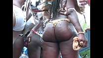 Free download video bokep Big booty booties shakin' West Indian Labor day Caribbean Parade