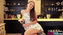 Colombian stepsister teen wants to bond with stepbro