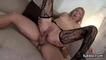 Foxy idol opens up her vulva and loves hardcore penetration