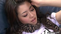 Delicious Asian hottie pounded with vegetables thumbnail