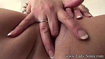 MILF Lady Sonia fuck her pussy and cum Vorschaubild