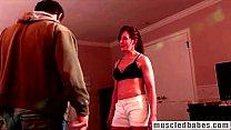 MILF seducing her sports coach