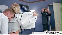 Superb Girl (Alix Lynx) With Round Big Boobs Banged In Office vid-02