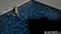 BLACKED Blonde Girlfriend Alli Rae Loves Black Cock Preview