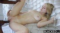 BLACKED Blonde Girlfriend Alli Rae Loves Black Cock صورة