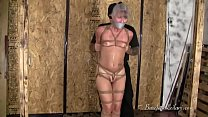 Leilani Lei in Her First Tight Hogtie