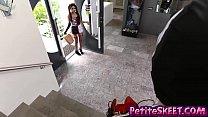 Bomb squad latina teen Katya Rodriguez gets big dick