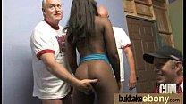 Ebony babe sucks too many white cocks 25 thumbnail