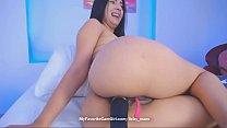 Colombian Teen Babe Big Butt Anal