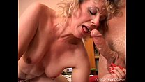 Cute Crystal is a cock hungry old spunker who loves the taste of cum