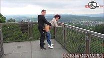 Deutsche Mulattin amateur Teen bei Outdoor Usertreffen صورة