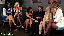 Clothed brit domina blows pornhub video