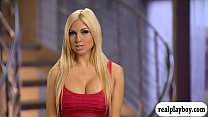 Group of nasty singles havin fun inside Playboy mansion