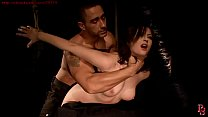 Sexy Zafira tied and struggling.BDSM movie.Hardcore bondage sex.缩略图
