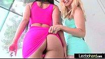 Lesbians Girl On Girl (Dani Daniels & Karla Kush & Katrina Jade) Sex Action Scene clip-24