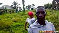 African Amateur Teen Couple Having a Quick Hard Fuck