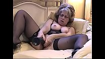 Hot Milf And A Huge Dildo Slo-Motion