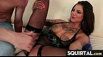 SHE SQUIRTS NICE PUSSY JUICE 28