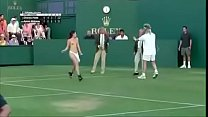 Funny sex in tennis match