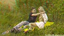Couple in a meadow Alisa