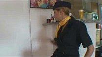 Video asian air hostess