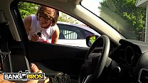 BANGBROS - Hipster Chick Catches Me Flashing Dick In A Parking Lot