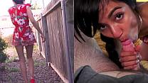 Sneaky Girlfriend Lures Investor - Split Screen