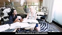 10067 BlackValleyGirls - Ebony Teen With Nice Tits Gets Pussy Plowed preview