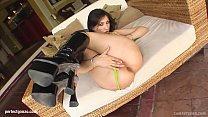 Teenie face Bianca having gonzo style rough sex on Tamed Teens preview image