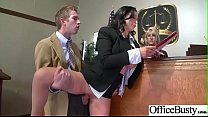 Horny Busty Girl (Nikki Benz) In Hard Style Banged In Office video-20 pornhub video