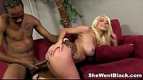 Blonde Babe Kali Kavalli gets Interracial Sex