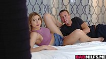 Threesome fucking session with Amber and Blair