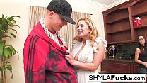 Busty Shyla Stylez is willing to do whatever it...