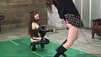 Japanese Femdom Emiru Whip BDSM Her Slave