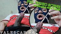 ValesCabeza306 PIG SCENE URETHRAL SOUNDING(SHORT VIDEO)Full Video Available!!!