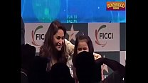 Madhuri Dixit oops! scene and HOT moment boobs  cleavage