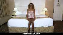 TeenyBlack - Gorgeous Ebony Teen Gets A Deep Dicking Preview