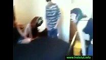 FFM threesome with cum swap pornhub video